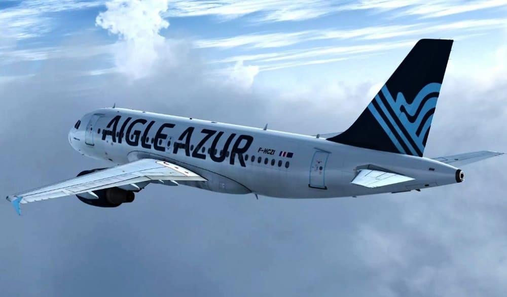 Самолет авиакомпании Aigle Azur