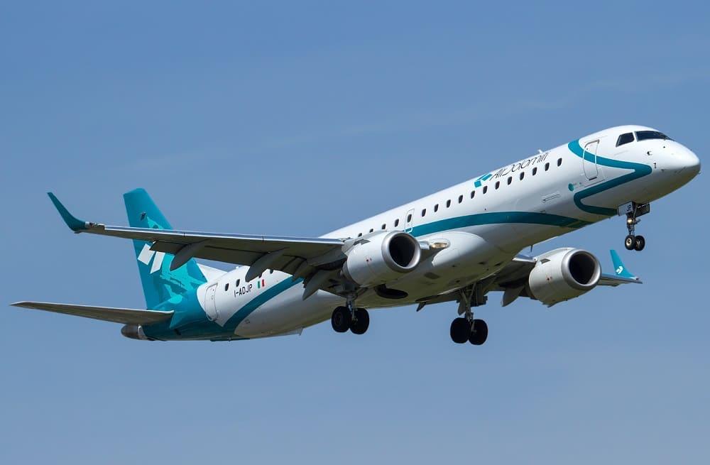Самолет авиакомпании Air Dolomiti