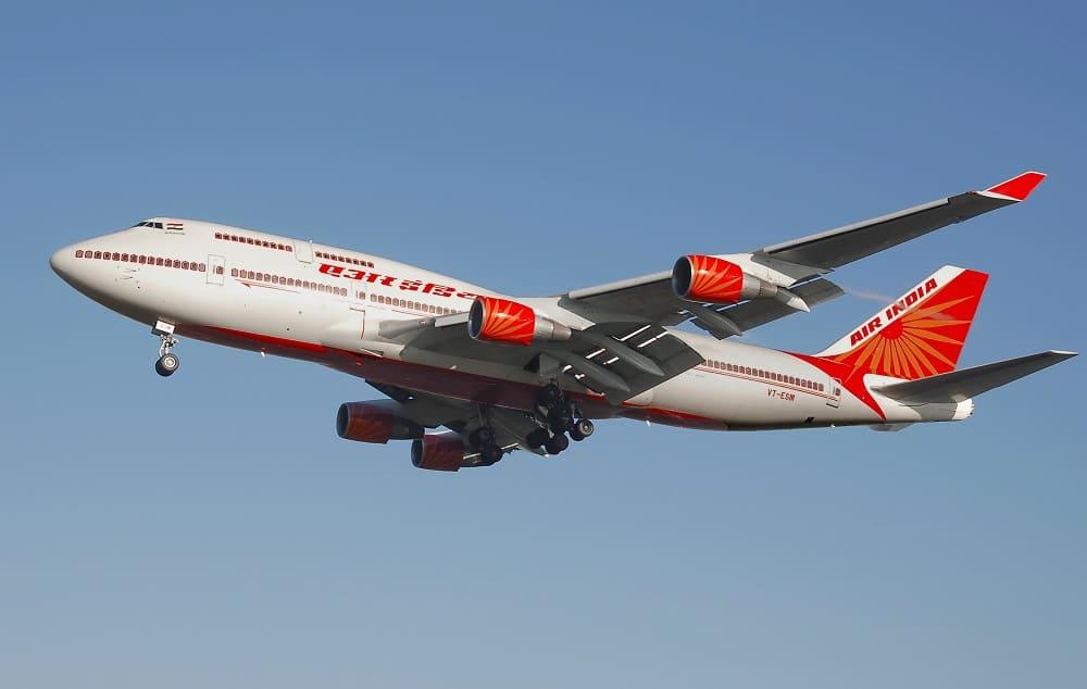 Самолет авиакомпании Air India