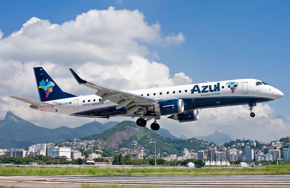 Самолет авиакомпании Azul Brazilian Airlines