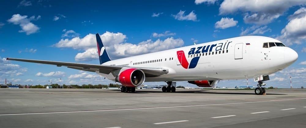 Самолет авиакомпании Азур эйр
