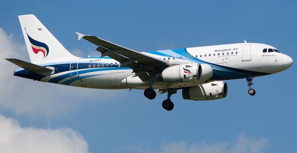 Самолет авиакомпании Bangkok Airways
