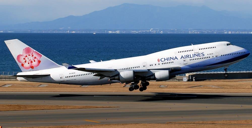 Самолет авиакомпании China Airlines