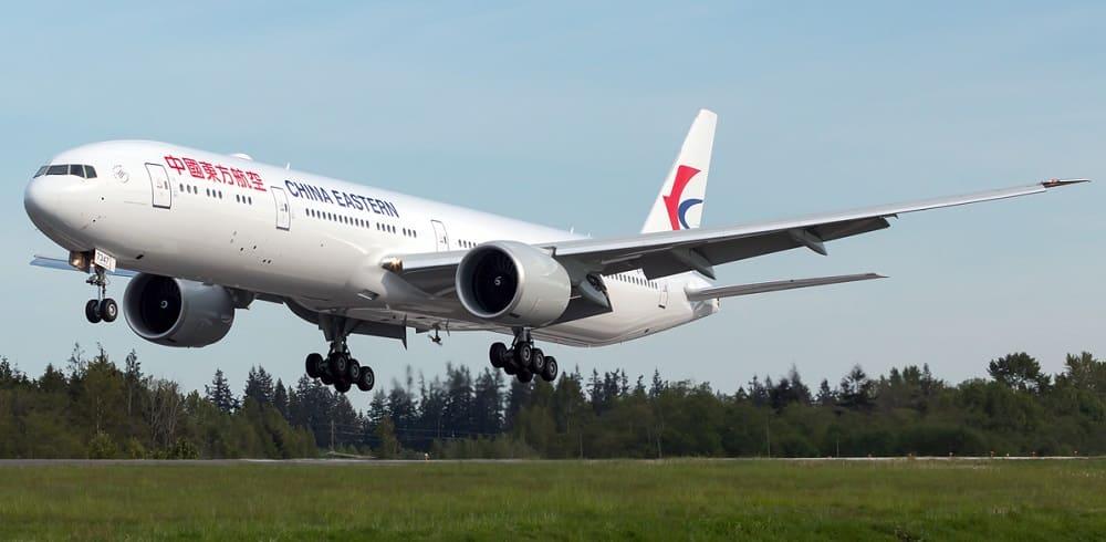 Самолет авиакомпании China Eastern Airlines
