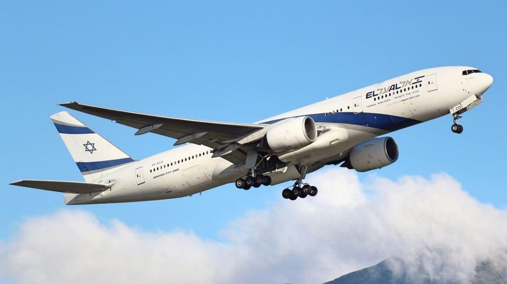 Самолет авиакомпании El AlIsraelAirlines
