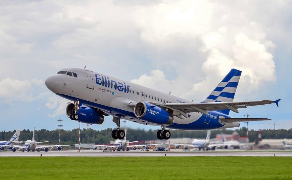Самолет авиакомпании Ellinair