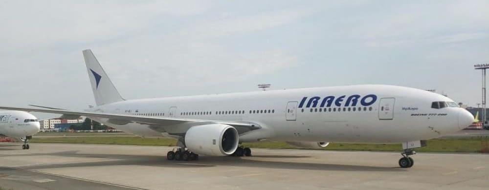Самолет авиакомпании ИрАэро