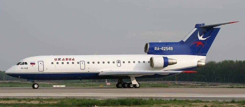 Самолет авиакомпании Ижавиа