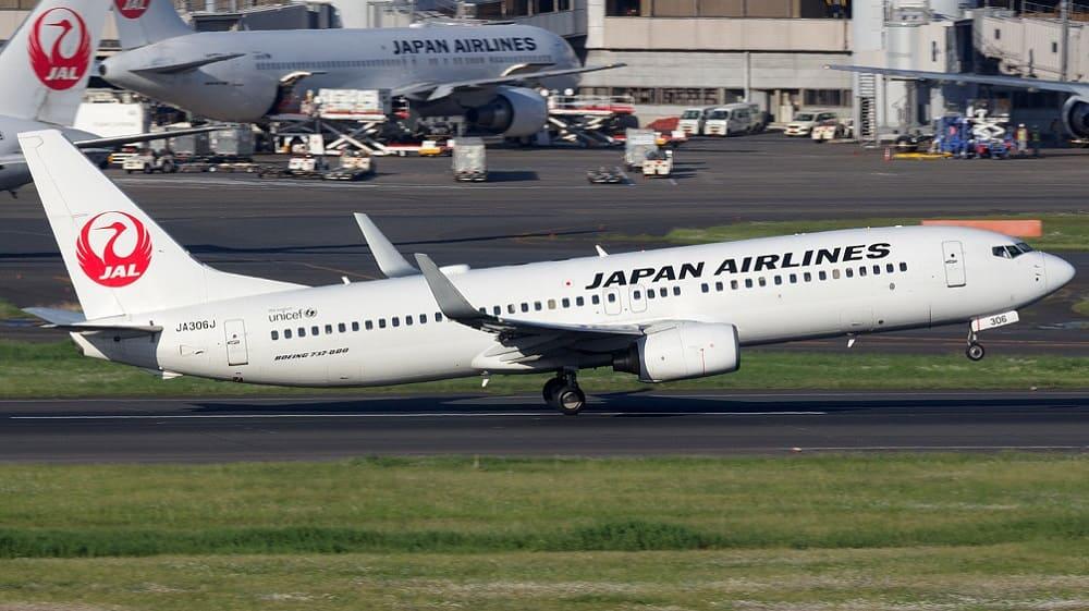 Самолет авиакомпании Japan Airlines