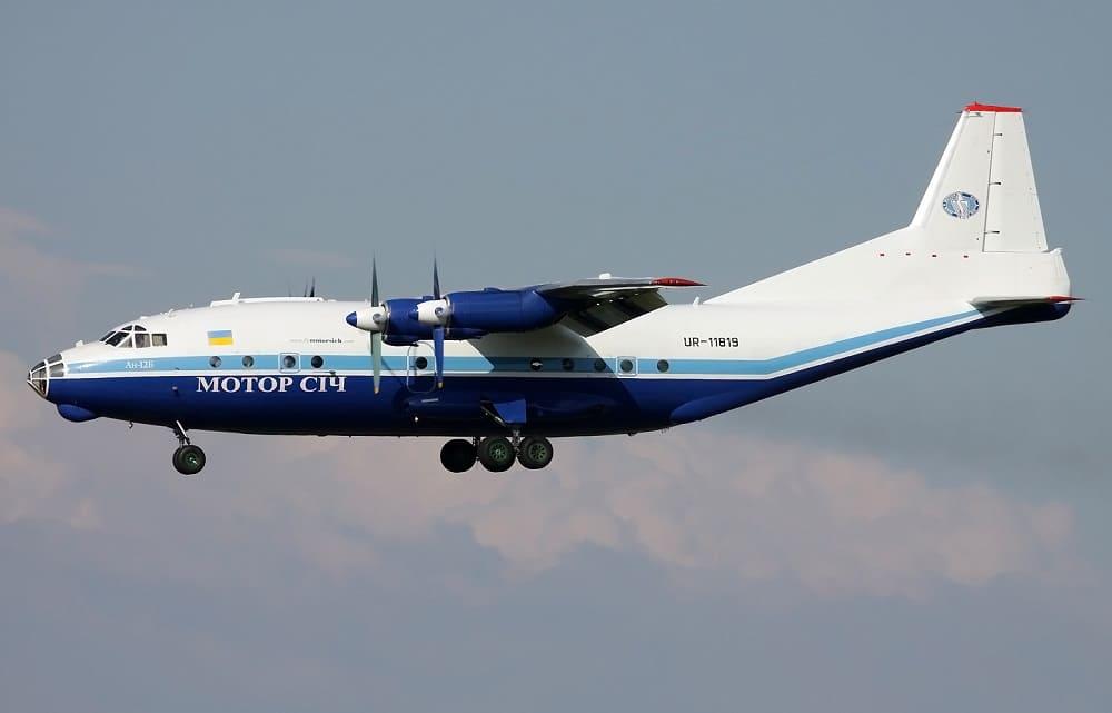 Самолет авиакомпании Motor Sich Airlines