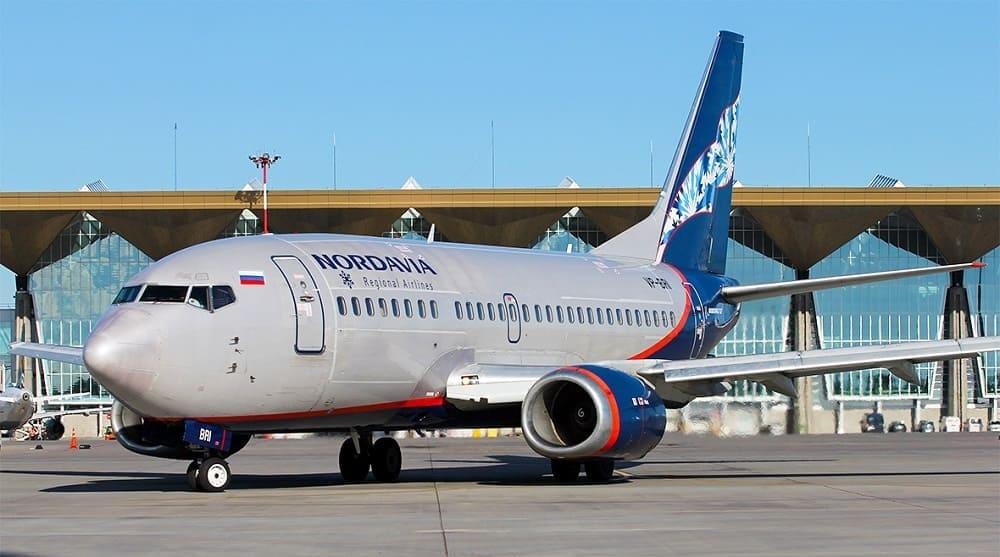 Самолет авиакомпании Нордавиа (NordAvia)