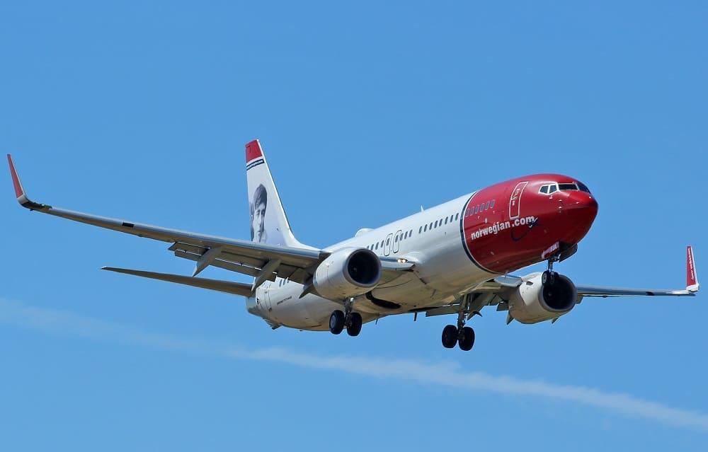 Самолет авиакомпании Norwegian Air International