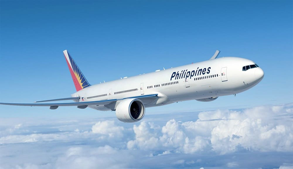 Самолет авиакомпании Philippine Airlines