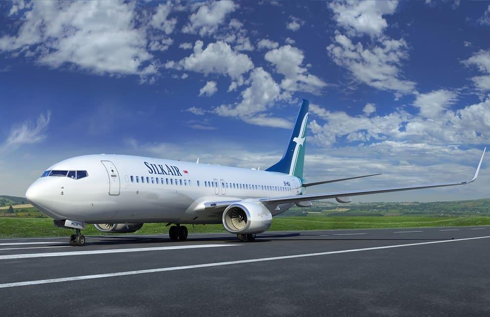 Самолет авиакомпании Silkair