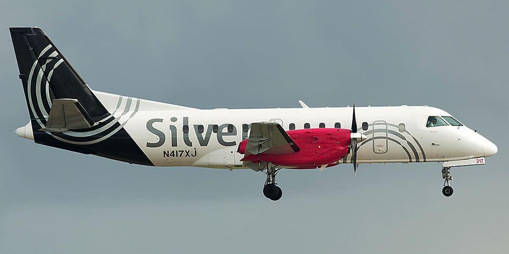 Самолет авиакомпании Silver Airways