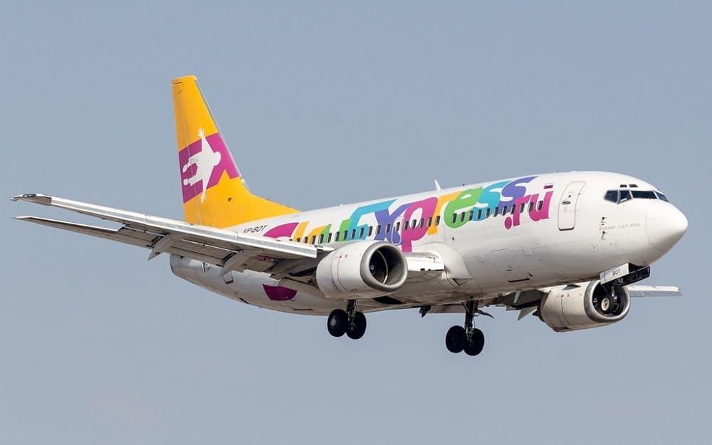 Самолет авиакомпании Sky Express