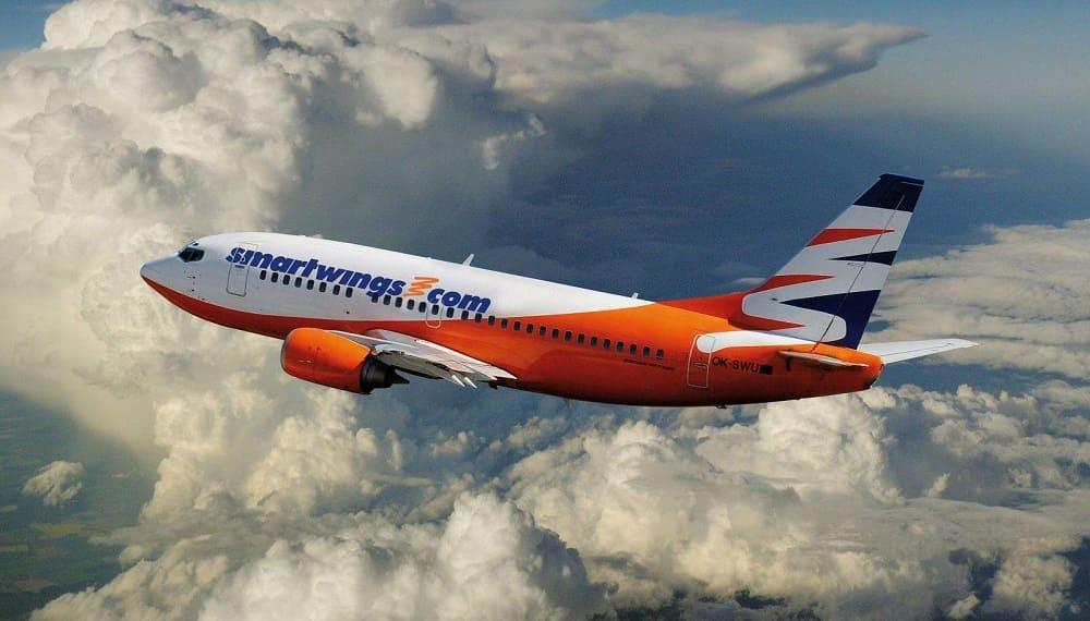 Самолет авиакомпании SmartWings