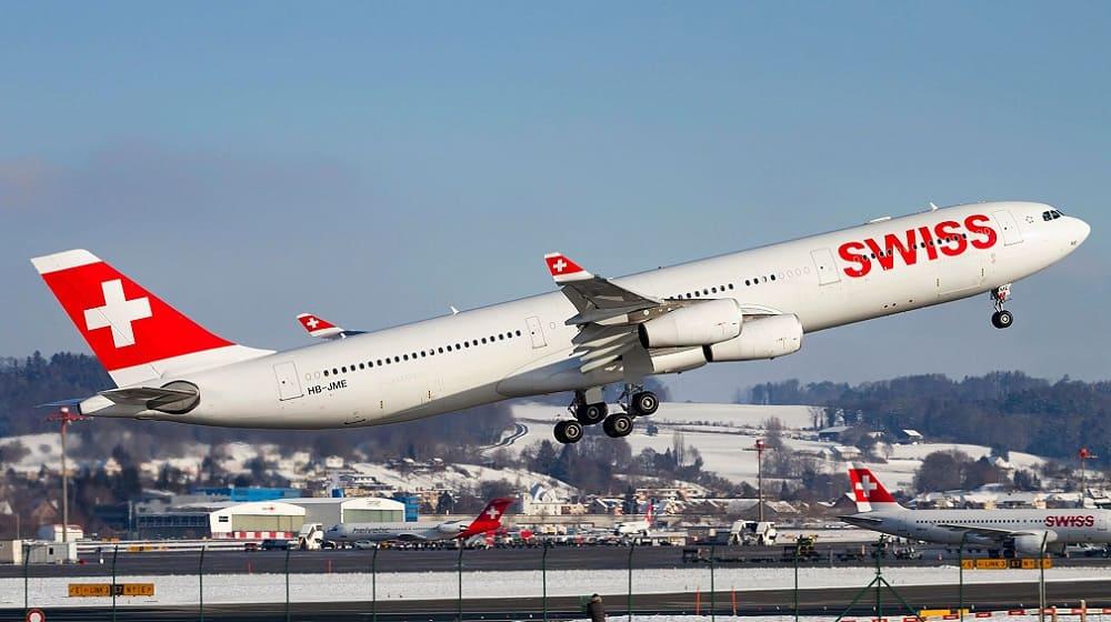 Самолет авиакомпании SwissInternational Air Lines