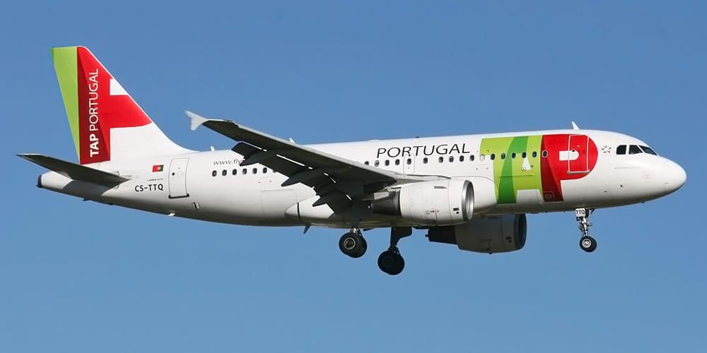 Самолет авиакомпании TAP Portugal