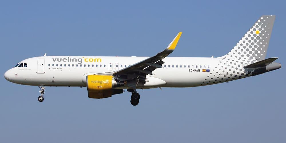 Самолет авиакомпании Vueling